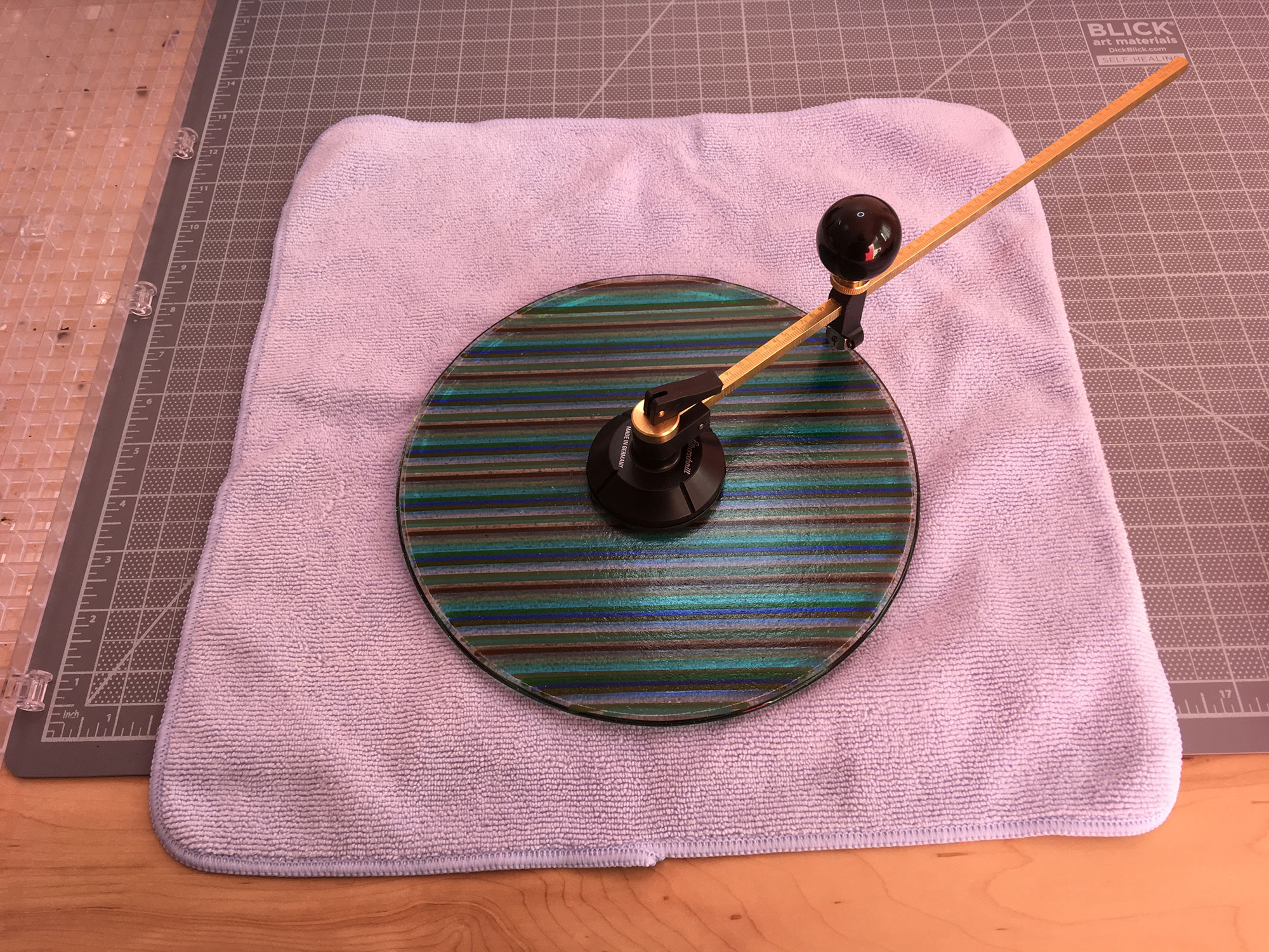 Scoring the Fused Glass