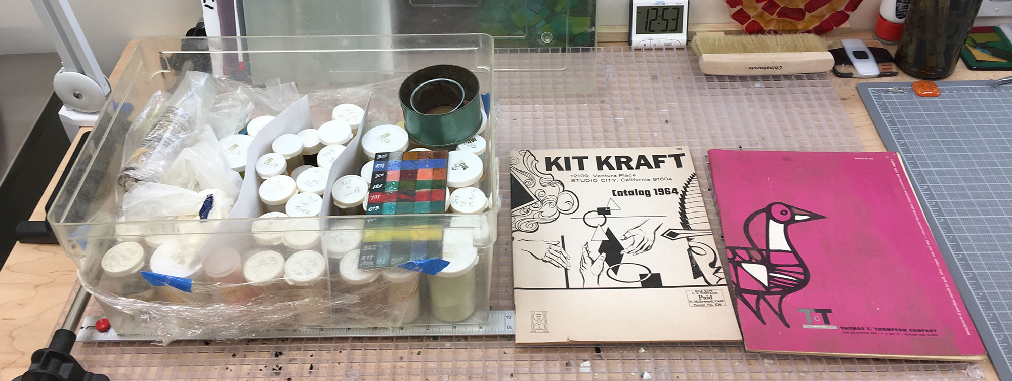 An Enamelers Kit from the 1960s