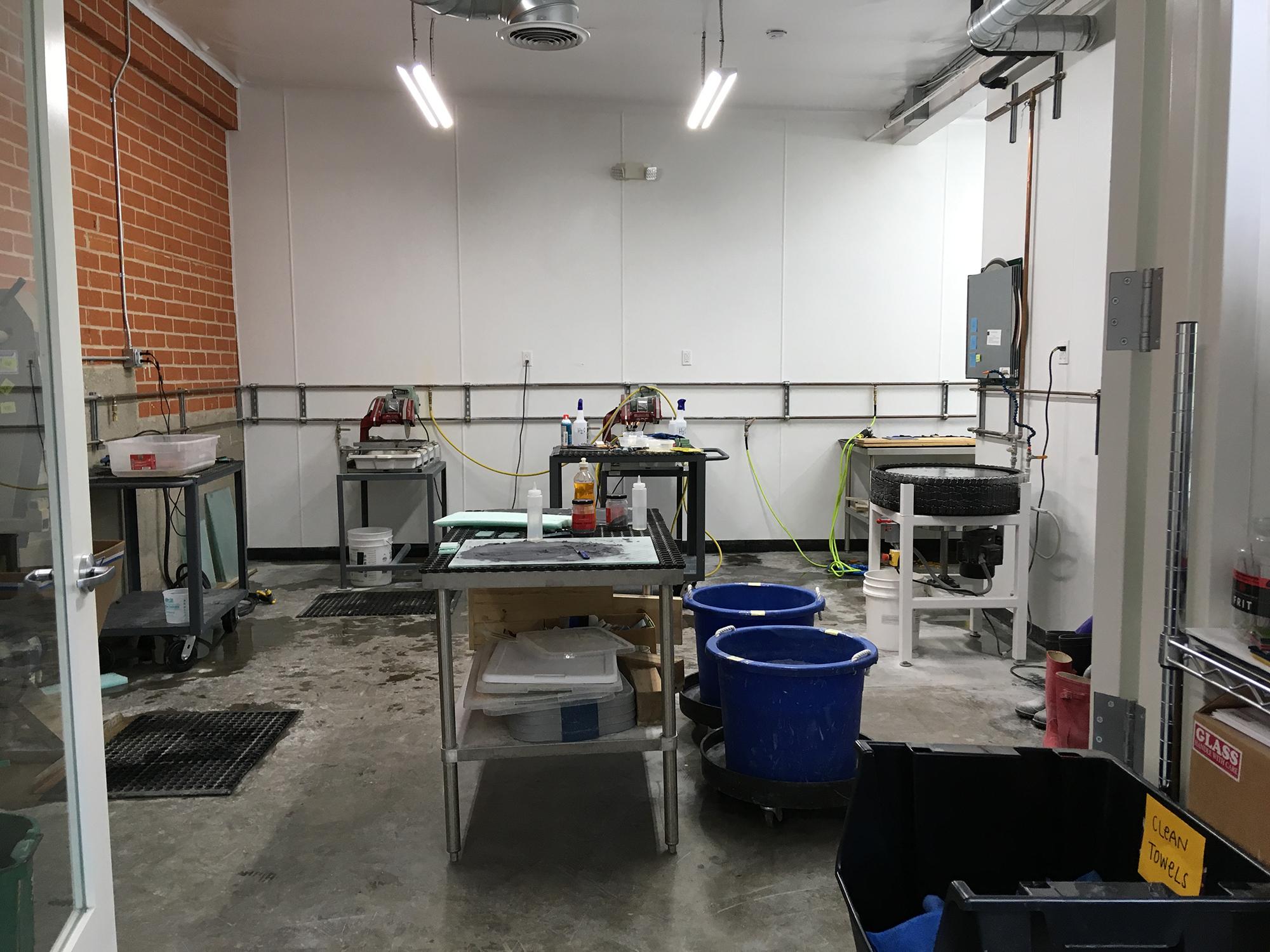 Coldworking Room