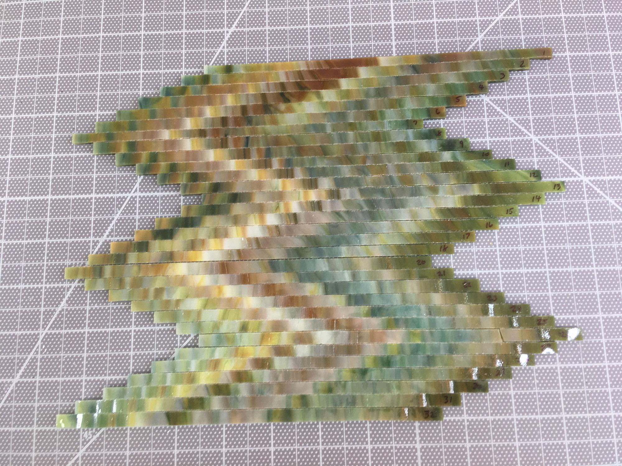 Different Ways to Arrange Strips